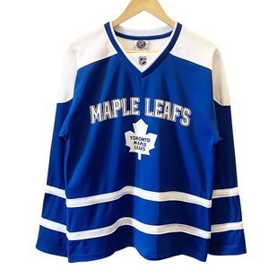 NHL Toronto Maple Leafs Blue and White #81 Phil Kessel Hockey Jersey Size Small